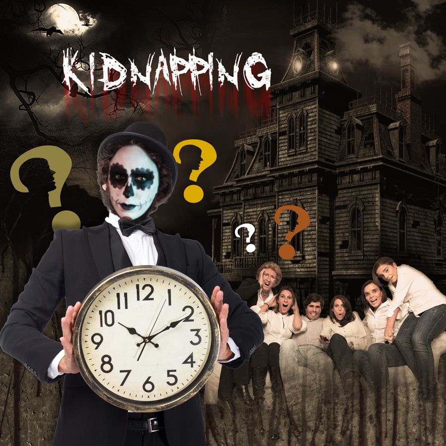 Visuel mission KIDNAPPING - L'Escapade, 1er ESCAPE GAME à Saint-Na