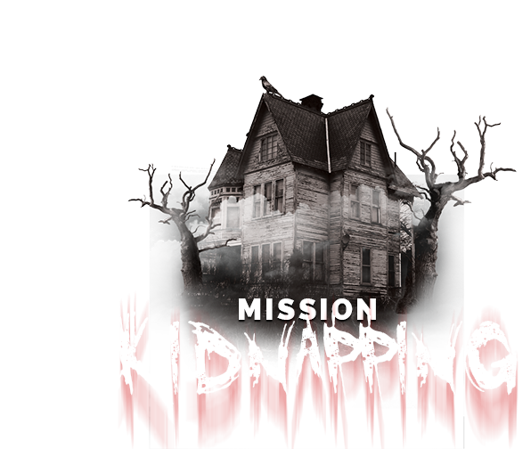 Visuel mission KIDNAPPING - L'Escapade, 1er ESCAPE GAME à Saint-Nazaire